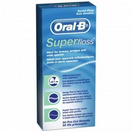 Nitka dentystyczna super floss Oral B