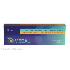 Torebki do sterylizacji MEDAL 90 x 260 mm