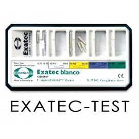 Wkłady z włókna Exatec BLANCO Set