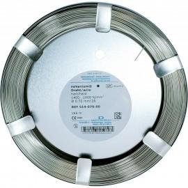 Drut remanium okrągły twardy 0,90mm (10m)
